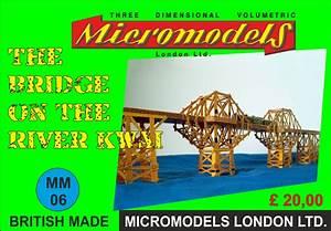 Engl Rechnung : micromodels the bridge on the river kwai die br cke am kwai kartonmodell ebay ~ Themetempest.com Abrechnung