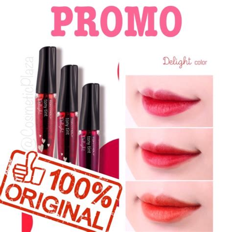 Harga Tony Moly Lip Tint tony moly delight lip tint shopee indonesia