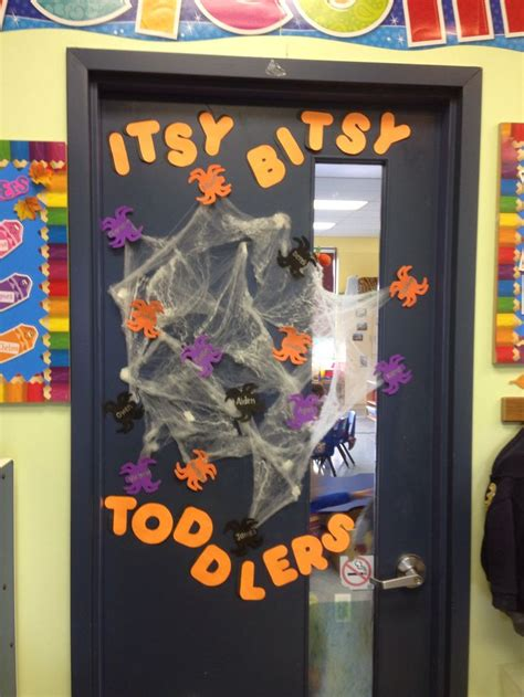 halloween toddler classroom door classroom door ideas