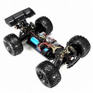 Jlb Racing Cheetah 1  10 Brushless Rc Car Monster Trunk 21101 Rtr