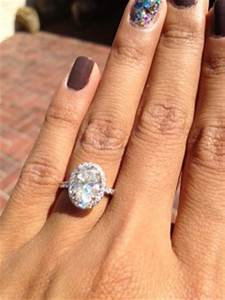 show me your oval rings weddingbee With big oval wedding rings