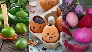 Eier Färben Mit Naturmaterialien : ostereier verzieren nat rliche farben und tolle techniken ~ Frokenaadalensverden.com Haus und Dekorationen