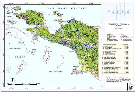 west irian jaya map peta irian jaya barat west papua