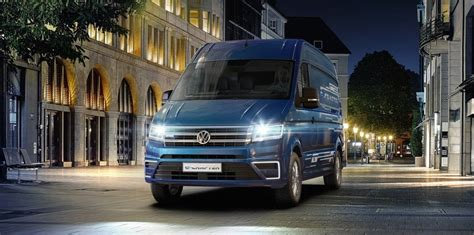 Volkswagen Commercial Vehicles Usa by Volkswagen Commercial Vehicles Unveils E Crafter Electric