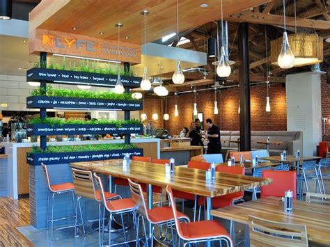 lyfe kitchen opens  culver city restaurant interior