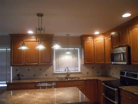 kitchen pot lights layout pictures lighting design of