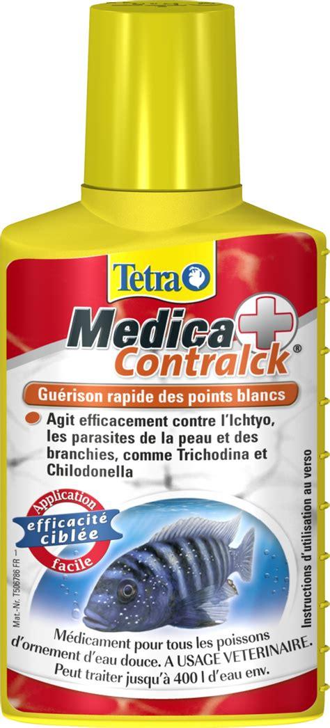 tetra medica contraick 100 ml contre la maladie des points blancs et autres parasites de la peau