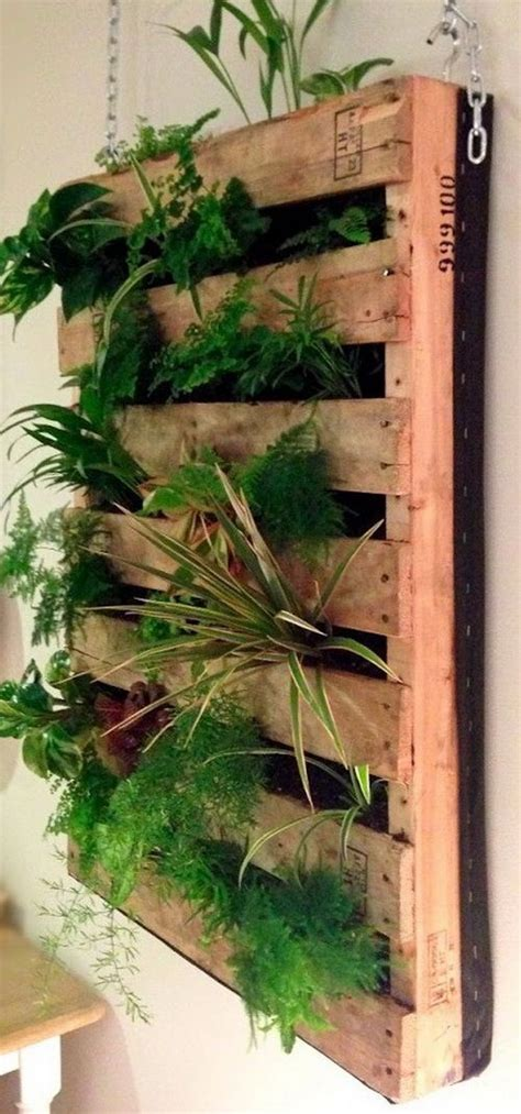 How To Make A Vertical Pallet Garden by How To Make A Vertical Pallet Garden Gardenoholic