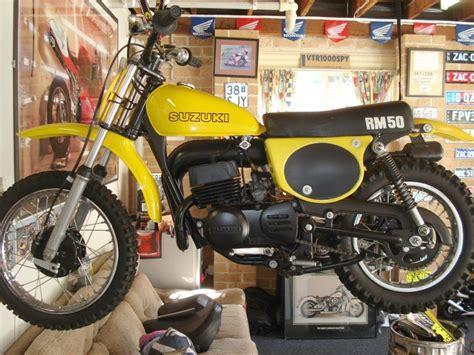 Suzuki Rm50 by 1978 Suzuki Rm50 Vintage Dirt Vintage Motocross Mini