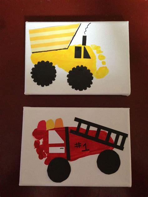 truck footprints   mans transportation big boy