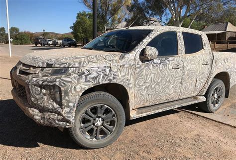 2019 Mitsubishi Triton Prototype Spotted In South