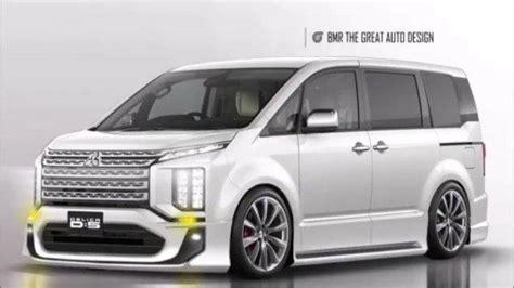 Modifikasi Mitsubishi Delica by Mitsubishi Delica Dipaksa Cium Aspal Beginilah Jadinya