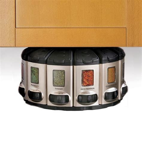 Auto Measure Spice Rack by Kitchenart Pro Auto Measure Spice Carousel