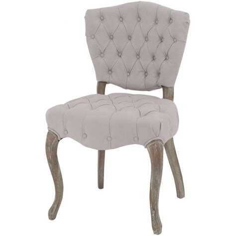 back chair uk buy button back vintage style dining chair from