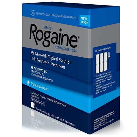 Rogaine Extra Strength Topical Solution 5% Hair Loss