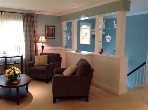 fresh bi level house interior design severna park split foyer renovation transitional