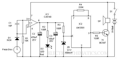 Circuit Diagram Active Speaker