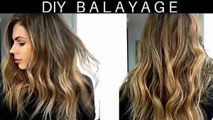 DIY 20 At Home Hair BalayageOmbre Tutorial YouTube