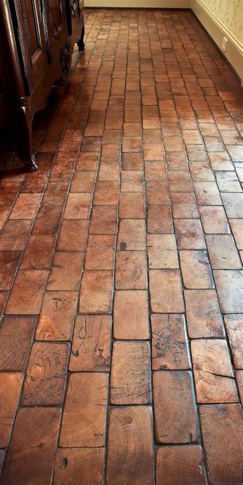 flooring world remodelaholic friday favorites wood block floor and a beautiful dog kennel yes i said dog