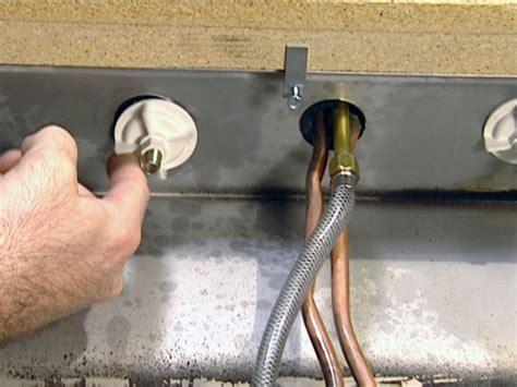 install  single handle kitchen faucet  tos diy