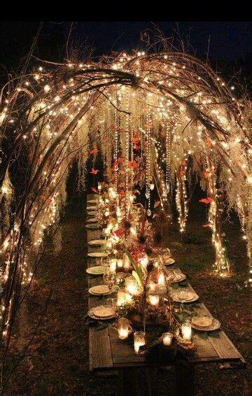 beatiful medieval fantasy wedding dinner wedding