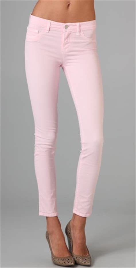 light pink skinny jeans sister brother the first styling company of its kind