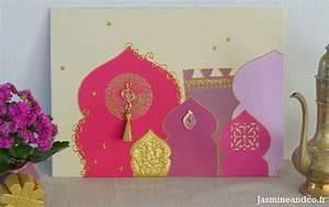 Tableau Porte Orientale : tableau oriental rose ~ Teatrodelosmanantiales.com Idées de Décoration