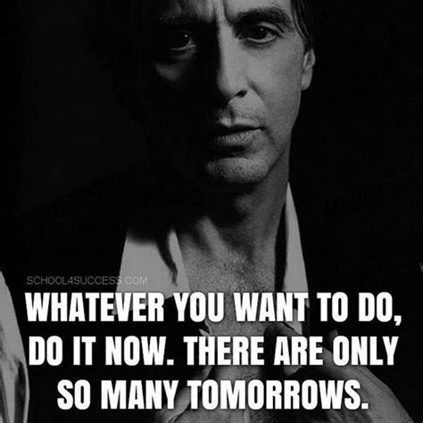 Al Pacino Quotes Best 25 Scarface Quotes Ideas On Godfather