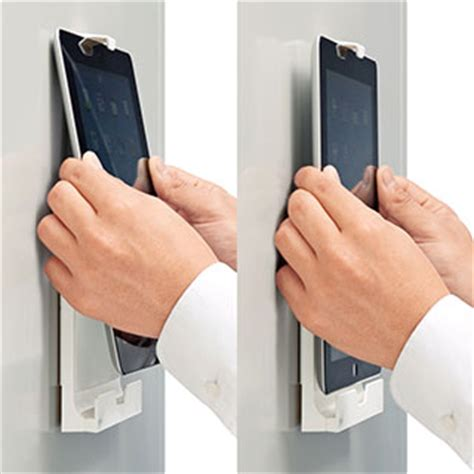 新製品ニュース マグネットで冷蔵庫に固定できる miniホルダー mr tabst8w