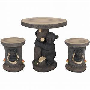 Bear 3 Piece Garden Patio Set BEAR 3PC FOUR SEASONS AFW