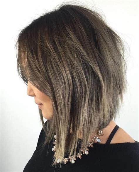 layered long bob hairstyles  lob haircuts