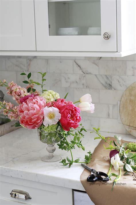 how to make flower arrangements how to make a flower arrangement centerpiece yummy mummy kitchen a vibrant vegetarian blog