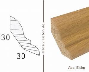 30 X 30 : onlineshop hohlkehlleiste 30x30 mm mit profil massivleisten sockelleisten ~ Markanthonyermac.com Haus und Dekorationen