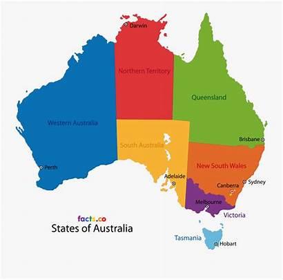 Australia Map Simple Australian Clipart State Children