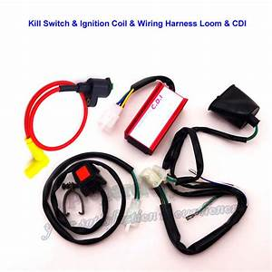 Dirt Pit Bike Racing Ignition Coil Ac Cdi Box Wiring Loom