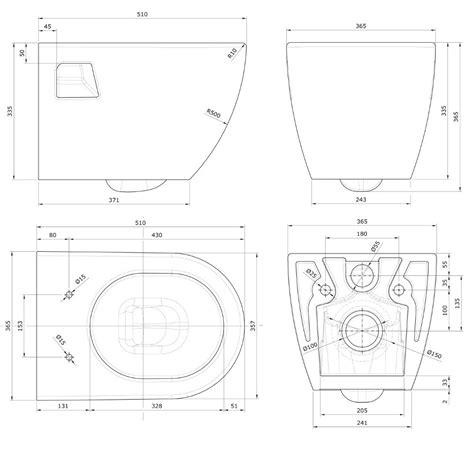 wc sitz abmessungen design wand wc wandh 228 ngend tiefsp 252 ler mit activ nano clean