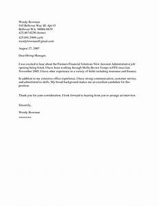 cover letter for any open position idealvistalistco With cover letter for any open position