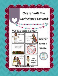 jesus heals the centurions servant craft make a 535 | 727b2321b1cc6f31bd8664b36772b5f1 jesus heals preschool lessons