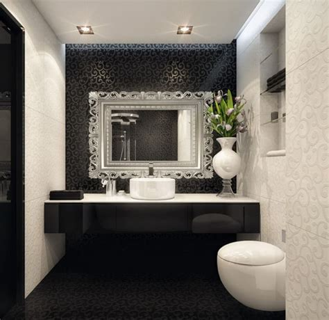 Black And White Bathroom Design by Bathroom Design Black And White