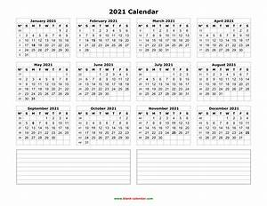 Fillable Calendar 2020 Yearly Calendar 2021 Free Download And Print