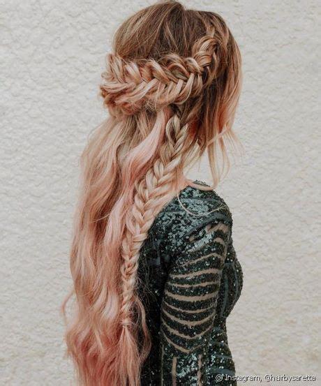peinados  cabello largo  graduacion