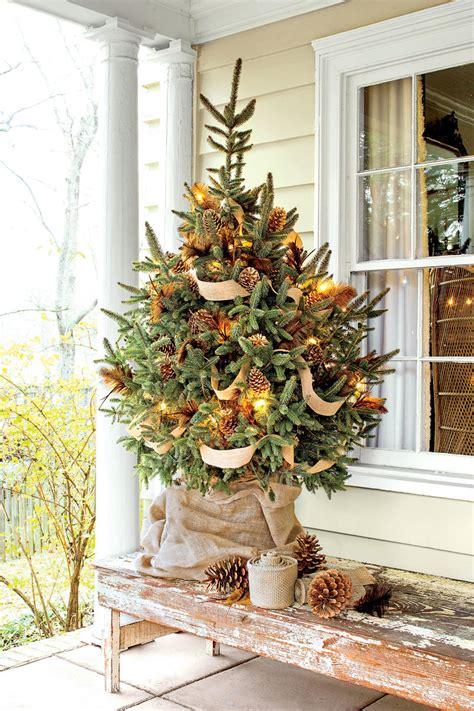 ideas  christmas tree garland southern living