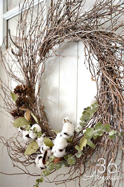 Farmhouse Style Wreath Tutorial - The 36th AVENUE