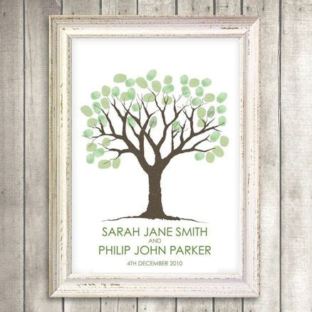 printable guestbook wedding fingerprint tree from i do it yourself favors guest goodies