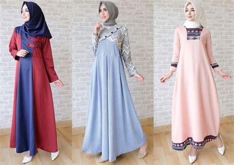 Untuk Wanita Dewasa Til Stylish Dengan Model Baju Muslim Lebaran 2018