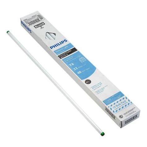 spectrum light home depot philips 4 ft t8 32 watt light 5000k linear