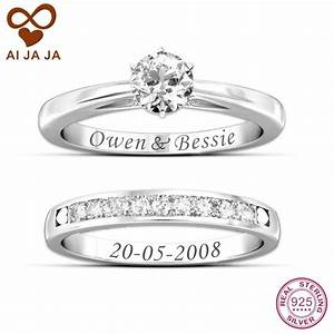 2018 latest engravings on wedding rings for Engravings on wedding rings
