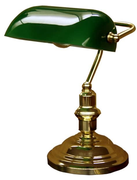Bankers Desk Lamp Green by Lamps Lighting A1 Furniture