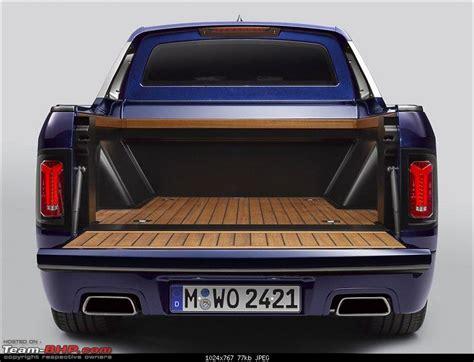 bmw builds   pickup truck team bhp