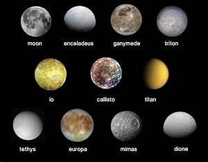 All the Moons in Our Solar System - Pics about space
